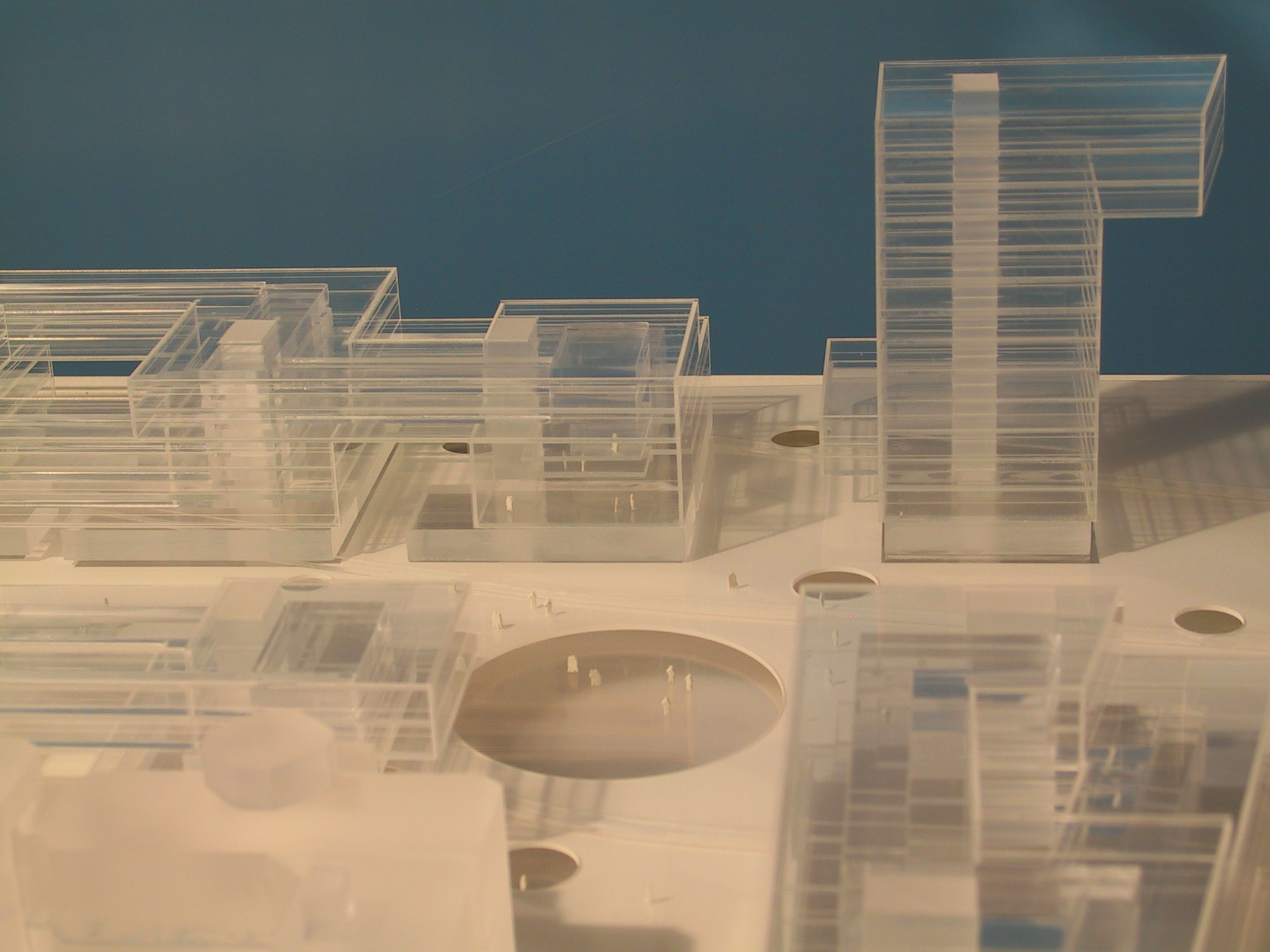 Europees parlement maquette