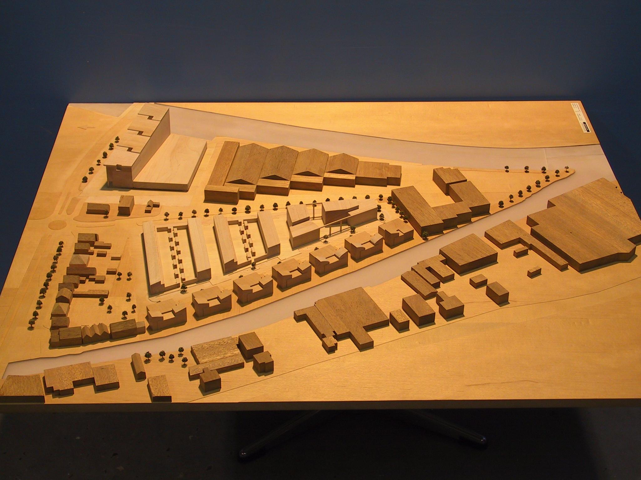 Nieuw Ambacht Katwijk Maquette