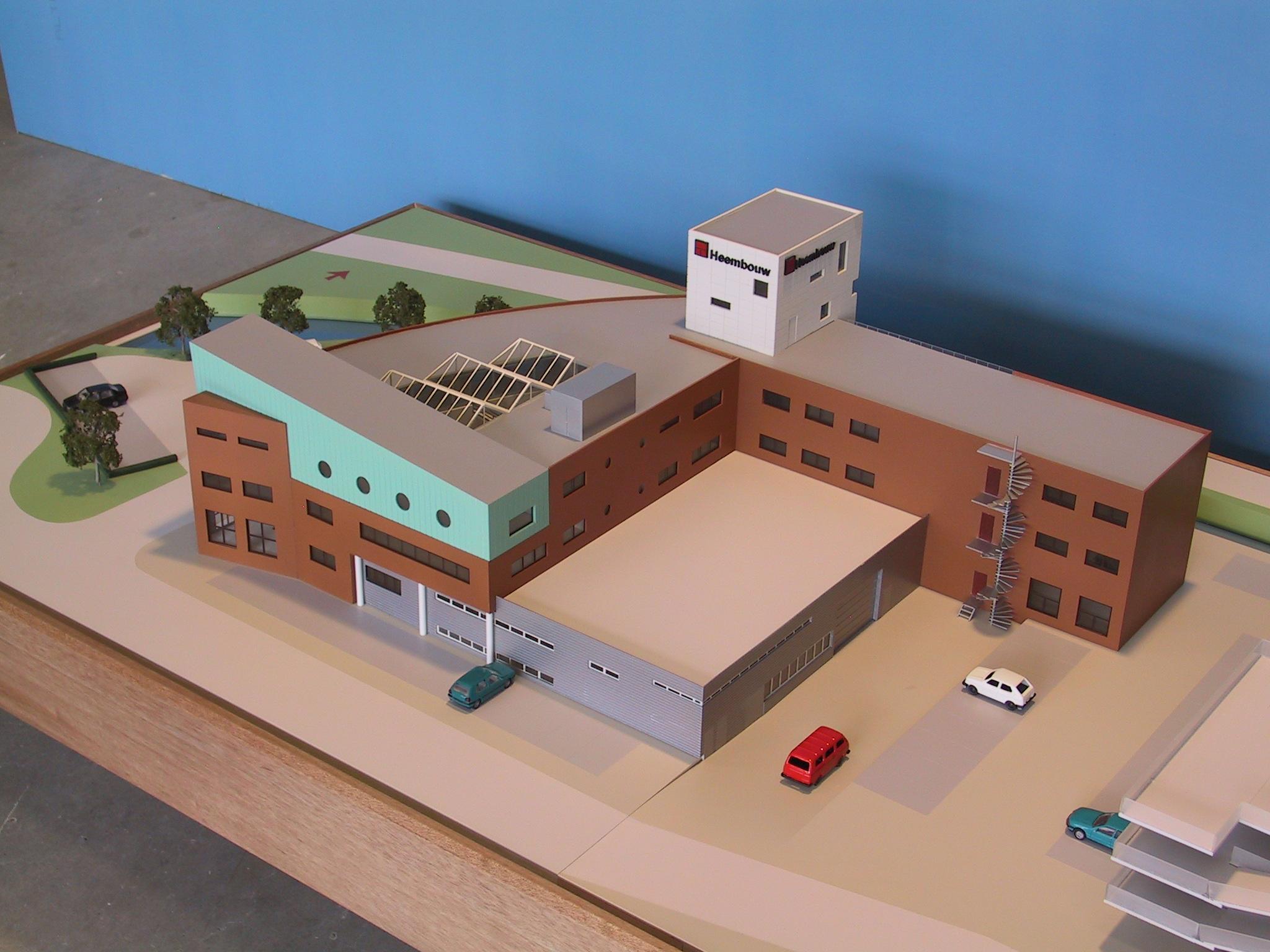 Heembouw kantoor maquette