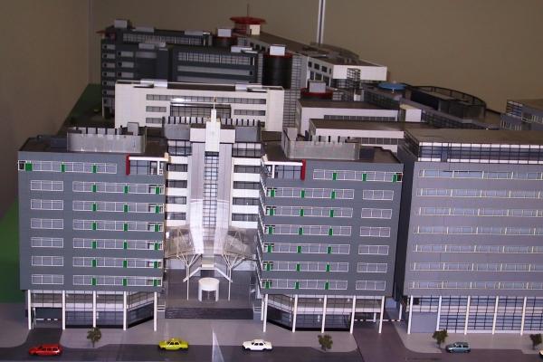 Kantorencomplex Maquette