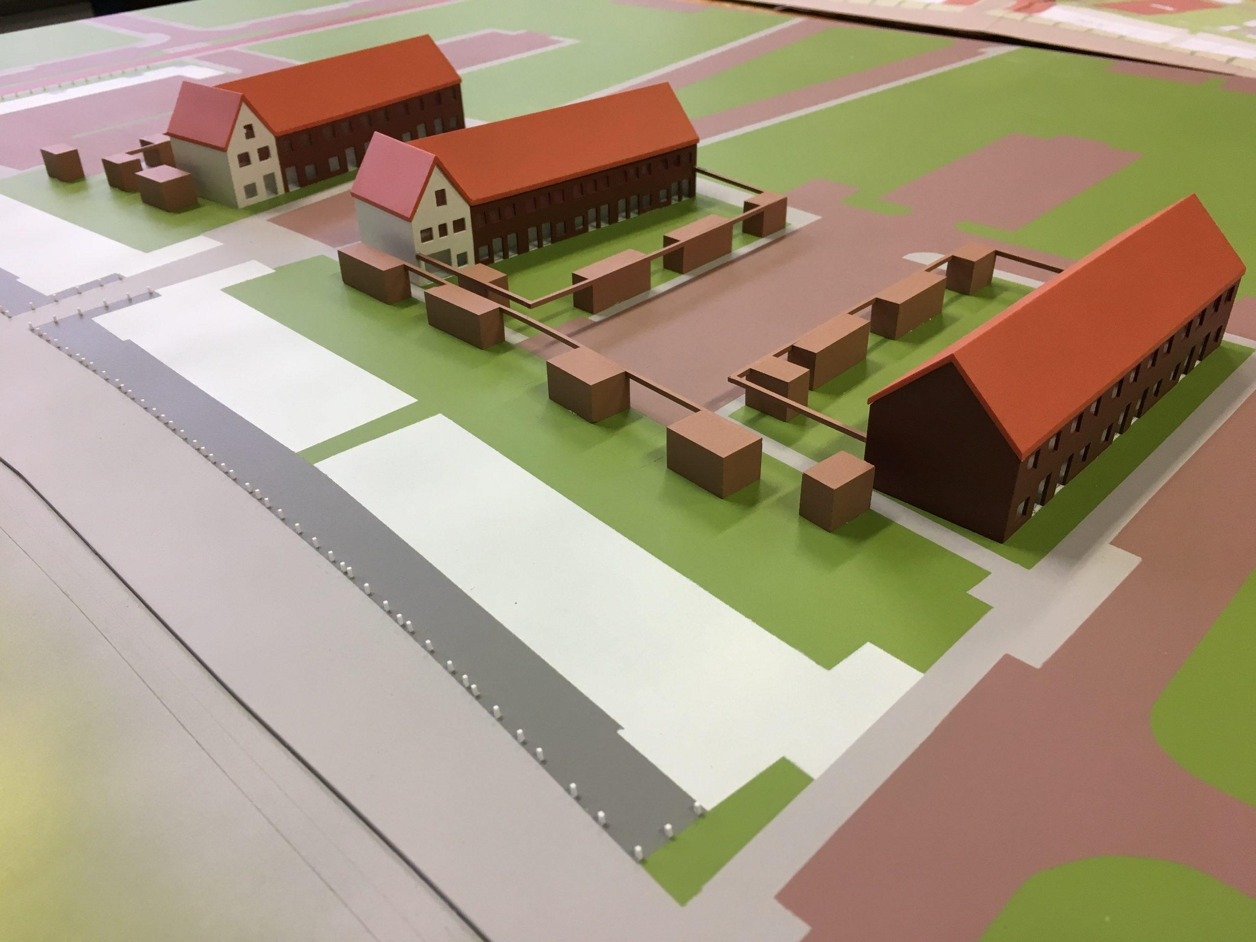 Mortiere Middelburg maquette
