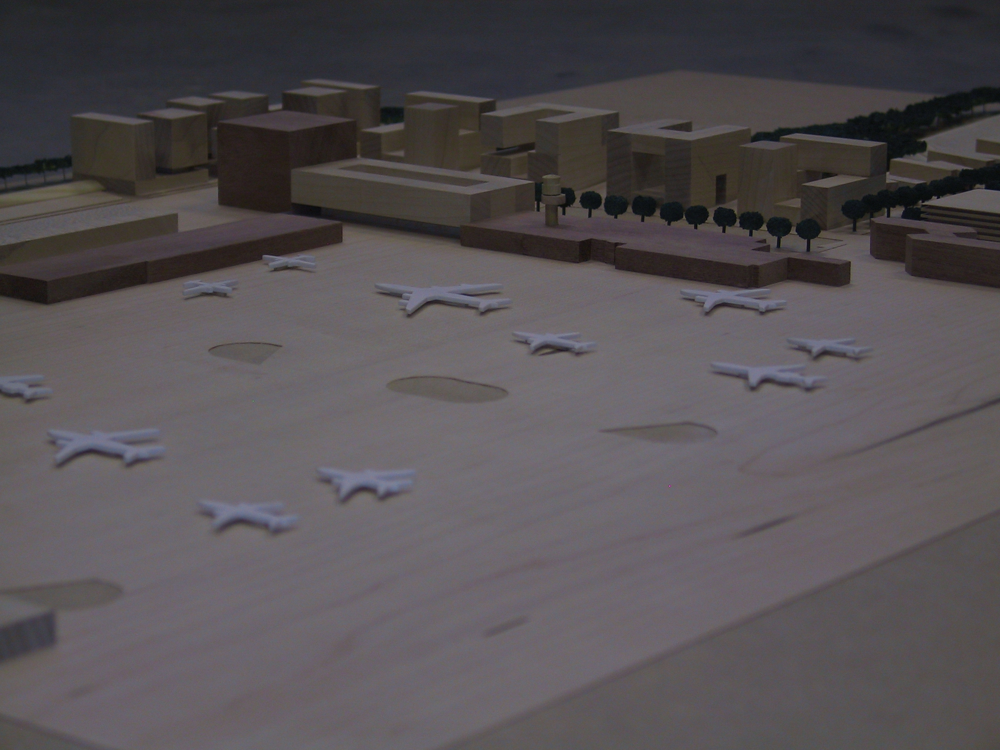 Rotterdam Airport maquette