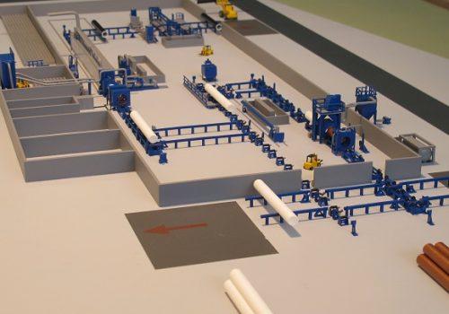 Fabriekshal maquette