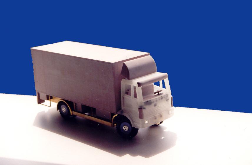 Vrachtwagen voor Madurodam